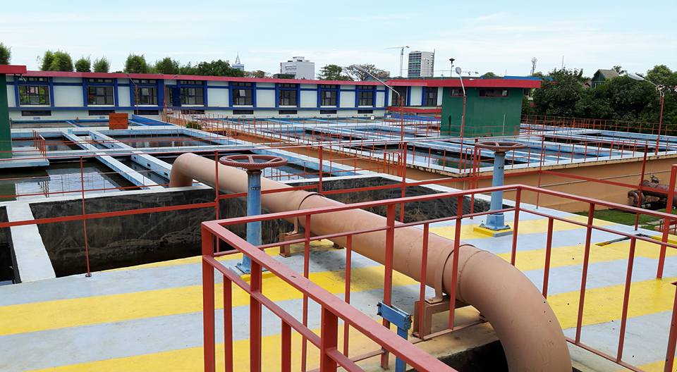 Area Pulsator Dan Filter IPA II Panaikang